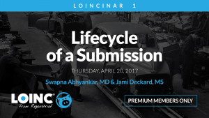 LOINCinar1: Lifecycle of a Submission